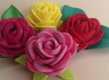 Rosas faciles de goma eva