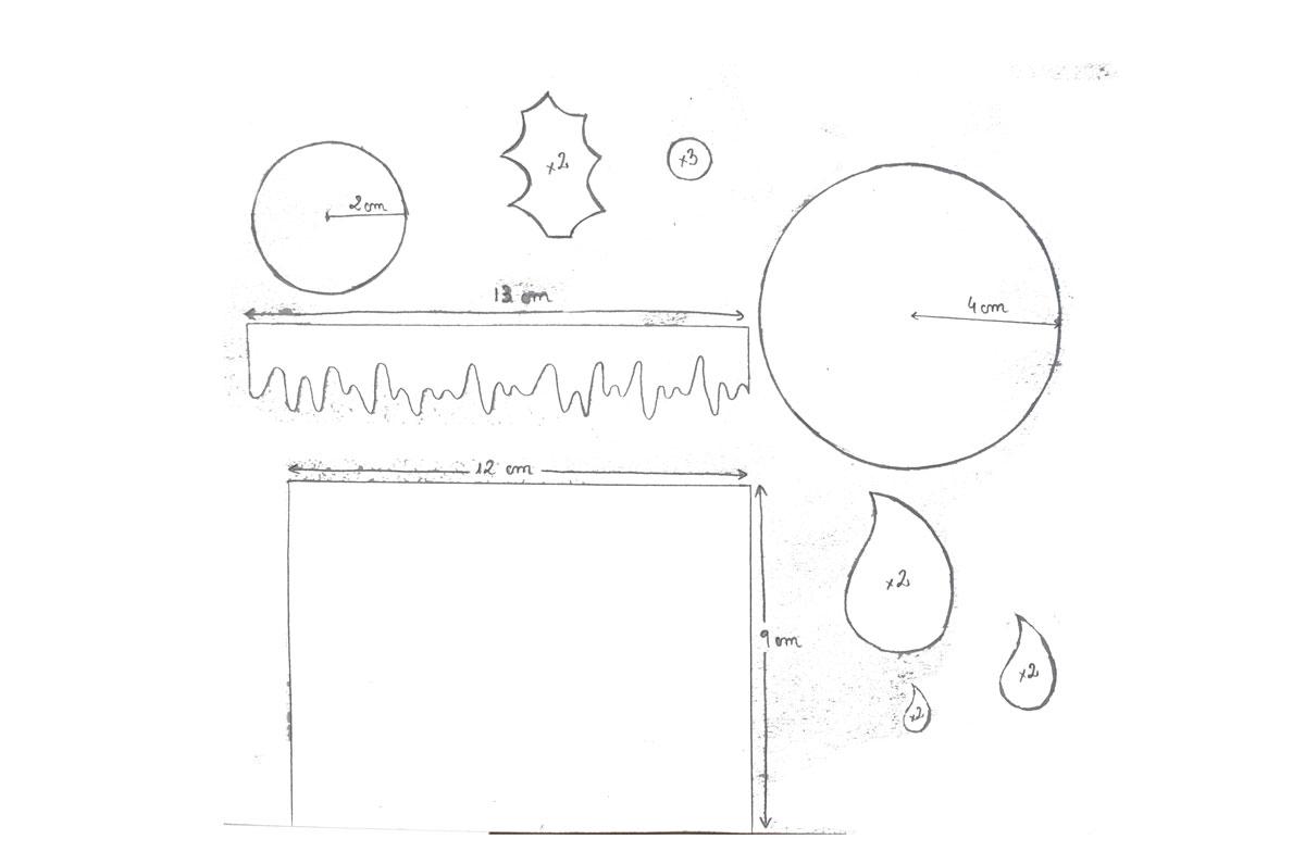 Patrones Dibujos De Navidad En Foami.Vela De Goma Eva Para Navidad Manualidades En Goma Eva