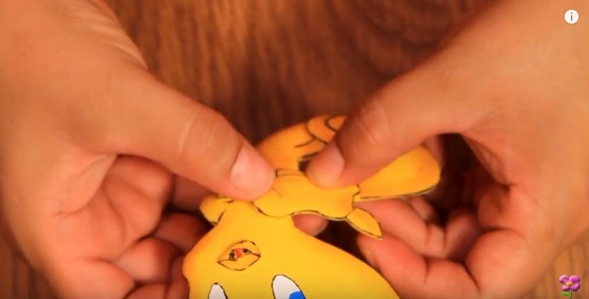 Muñeco de Piolin en goma eva 13