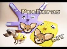 Pechera de goma eva para perritos chihuahua