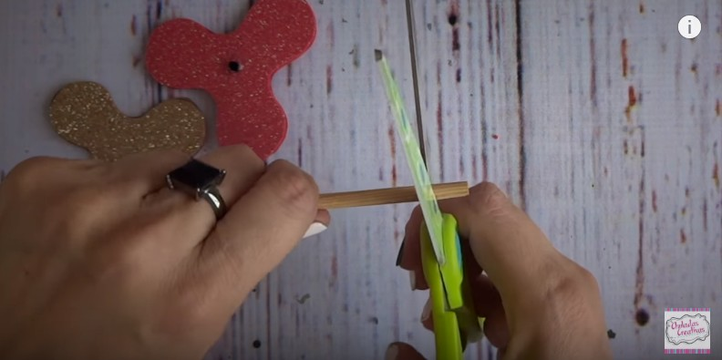 Spinner de goma eva facil 10