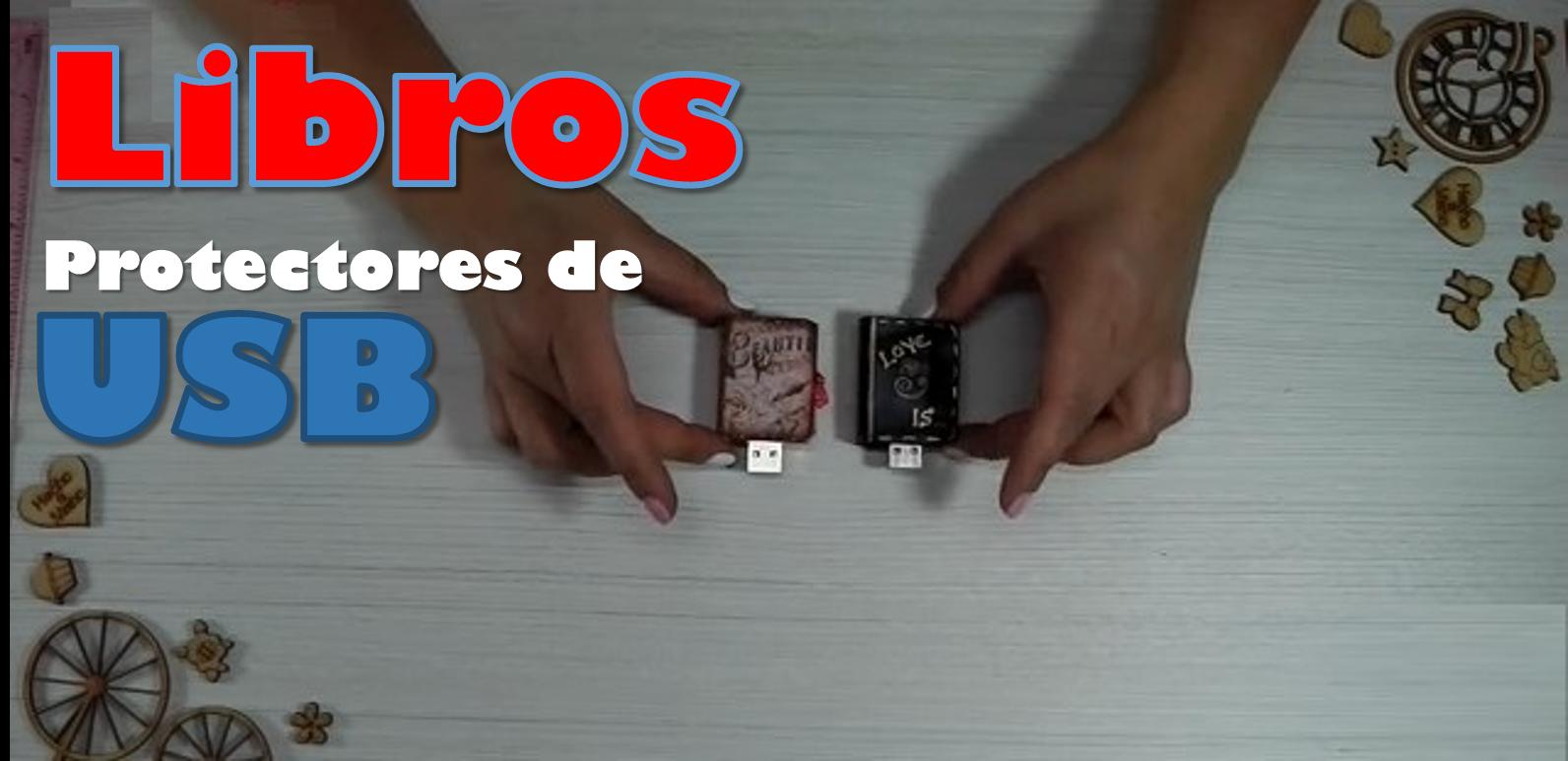 Protectores de USB de Libro de Goma Eva