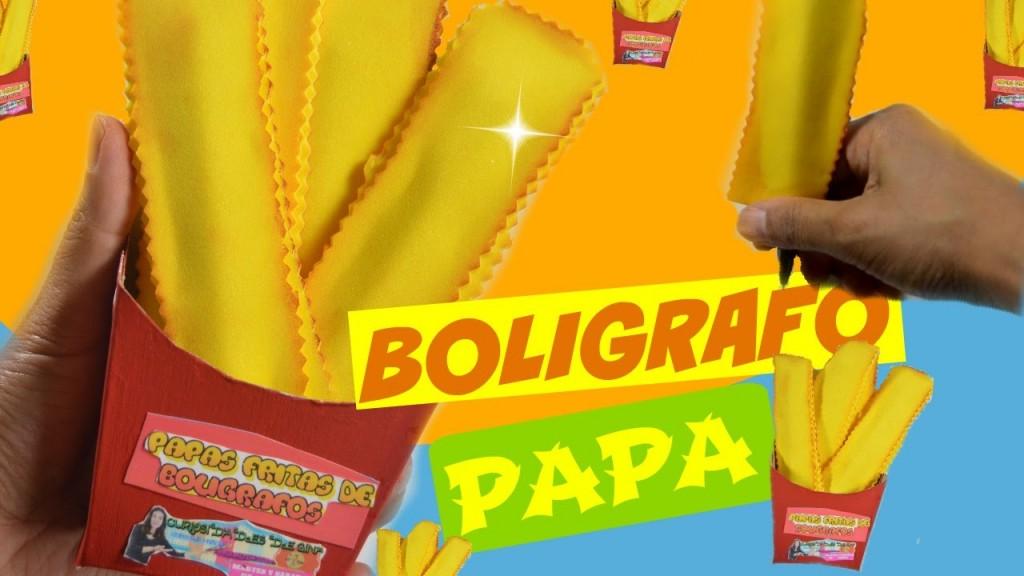 boligrafos-decorados-como-patatas-fritas-con-goma-eva