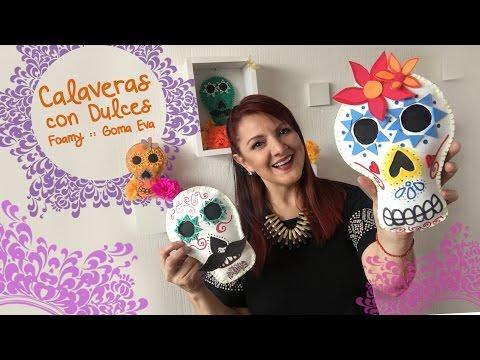 calaveras-mexicanas-con-goma-eva