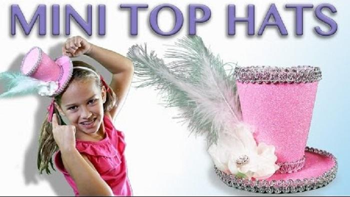 Mini Top Hat para las princesas de la casa