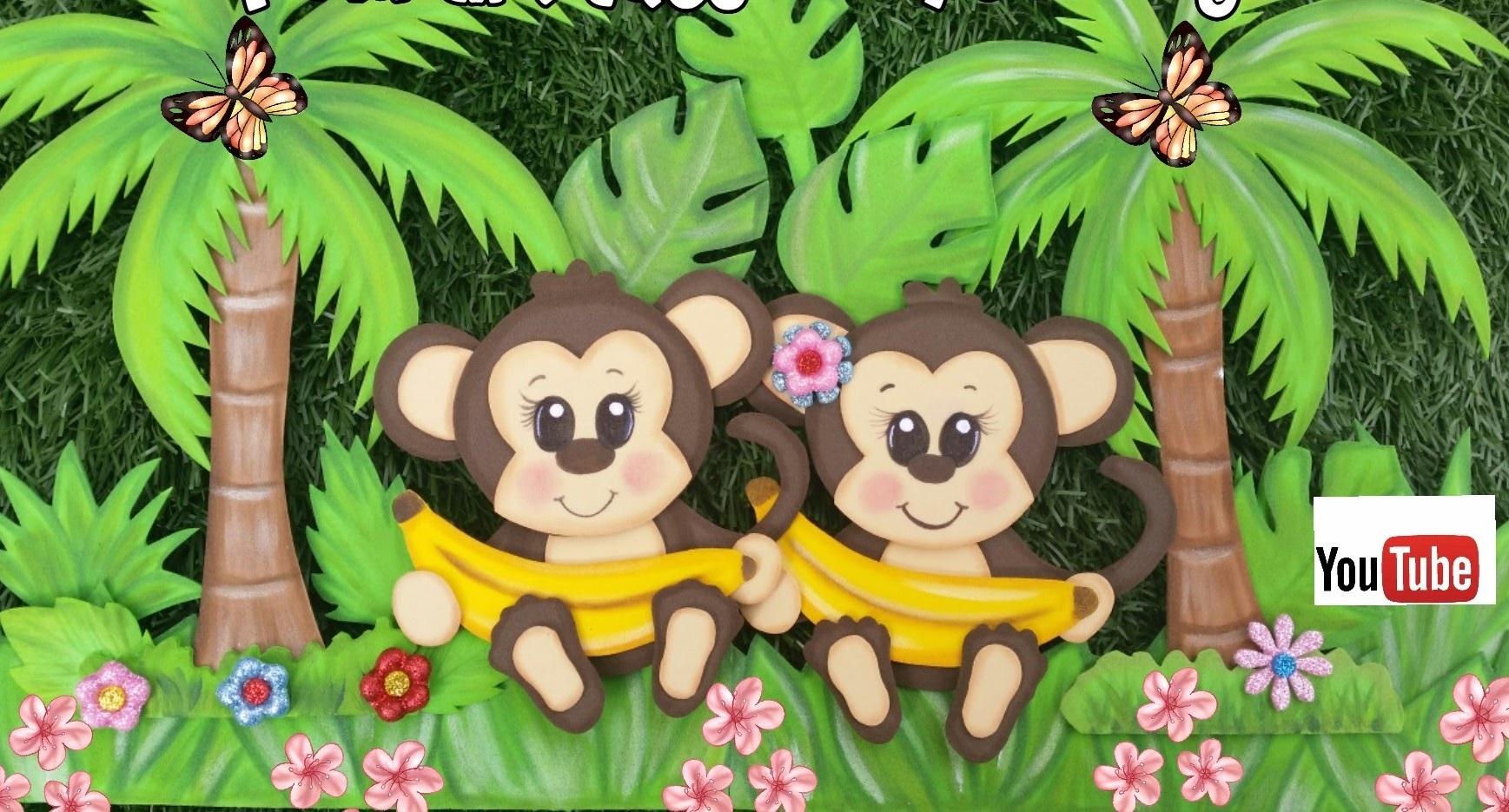 Haz tu propio safari con este changuito de Goma eva