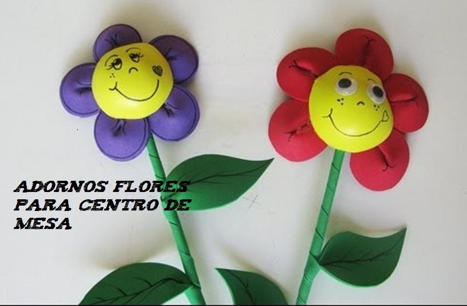 Flores simpáticas para centros de mesa