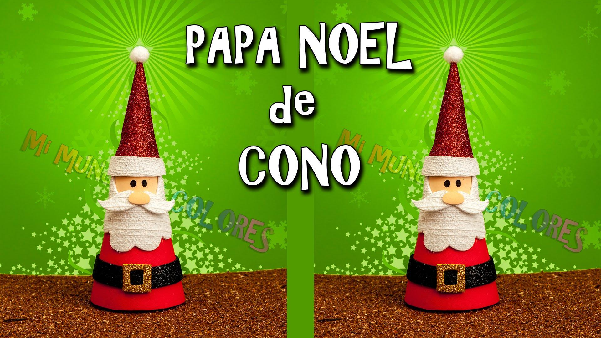 Ya llega Santa pero en Goma eva paso a paso