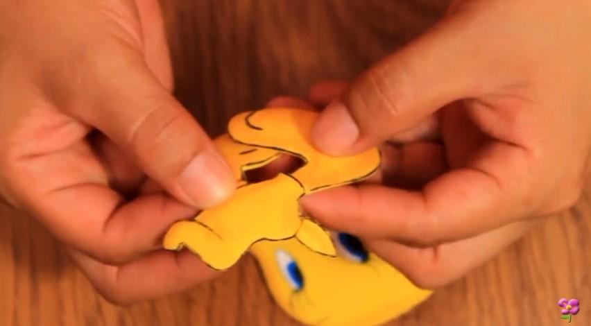 Muñeco de Piolin en goma eva 12