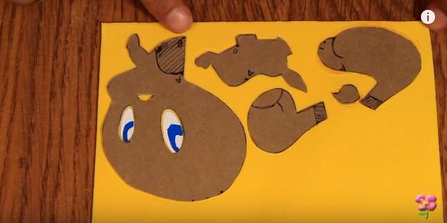 Muñeco de Piolin en goma eva 2