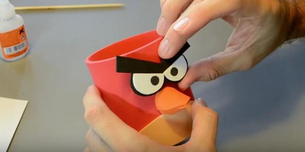 Portalapices de Angry Birds en goma eva 12