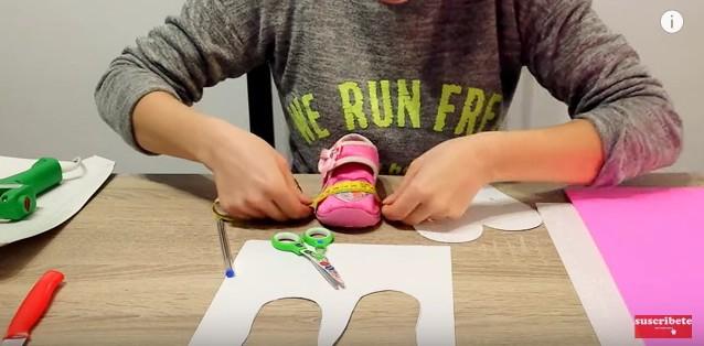 Zapatos de goma eva para niñas 5