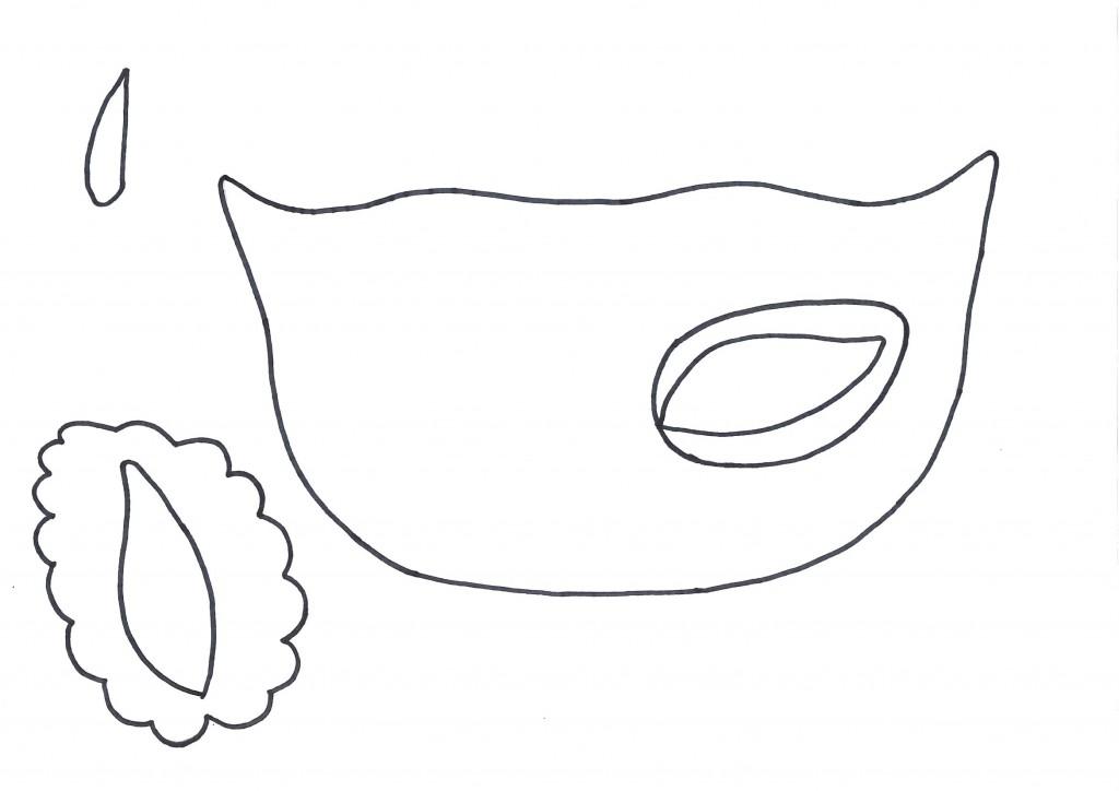 Antifaces de goma eva para carnaval con moldes (1)