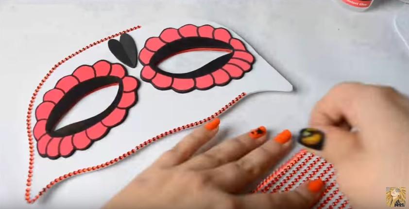 Antifaces de goma eva para carnaval con moldes (10)