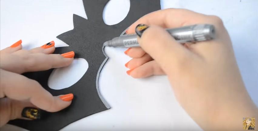 Antifaces de goma eva para carnaval con moldes (4)