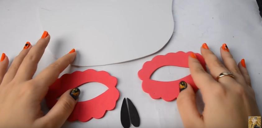 Antifaces de goma eva para carnaval con moldes (8)