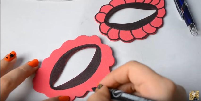 Antifaces de goma eva para carnaval con moldes (9)