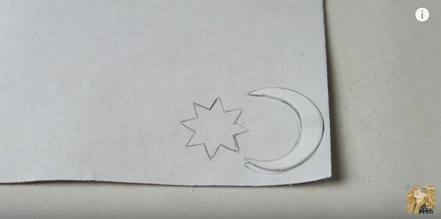 Colgante de Soy Luna en goma eva 3
