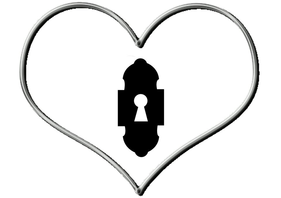 Organizador de goma eva con forma de corazon para San Valentin 2