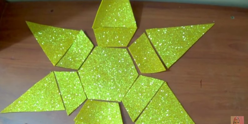 Diamante de goma eva 3