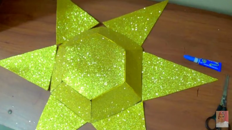 Diamante de goma eva 5