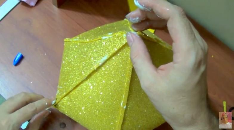 Diamante de goma eva 8