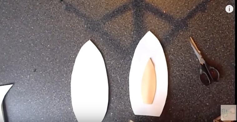 Orejas de conejo de Pascuas en goma eva 14