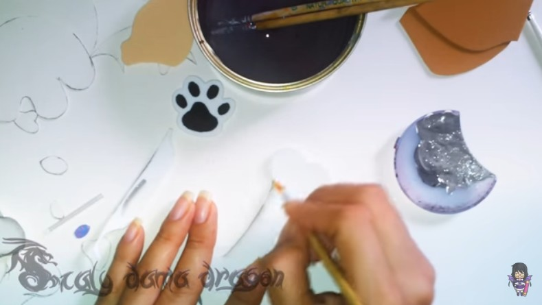 Pechera de goma eva para perritos chihuahua 8